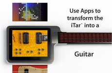 Tablet-Embedded Instruments - The iTar Turns You iPad into an Ultimate Musical Tool