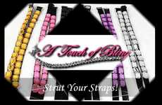 Opulent Bra Straps  - Undergarments from A Touch of Bling.com add Luxury to Your Wardrobe