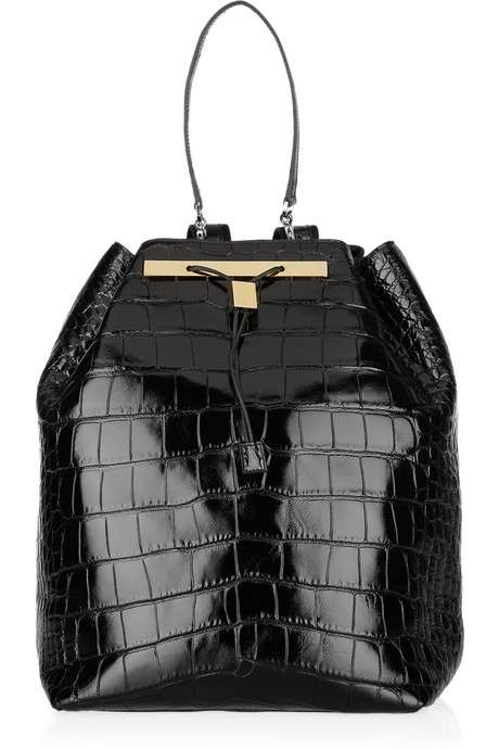 $39,000 Pseudo-School Sacks - The Row's Alligator Backpack Comes with a Hefty Price Tag