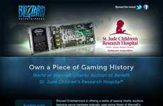 Virtual Real Estate Retail - Blizzard Raises Money for St. Jude Children's Hospital