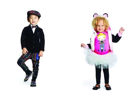 Japanese-Inspired Kidswear - The Harajuku Mini Line is Designed by Gwen Stefani for Target
