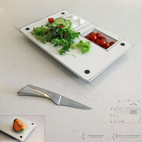 Hidden Compartment Food Boards
