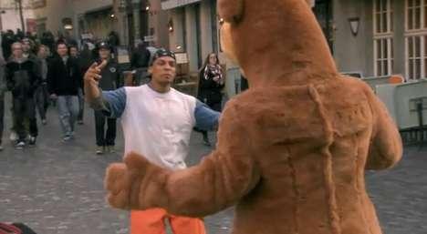Heartwarming Bear Hug Ads