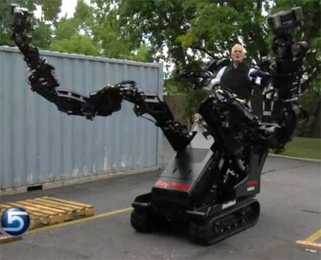 Giant Arm Exoskeletons