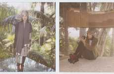 Curiously Clouded Catalogs - The Band of Outsiders Fall Lookbook Has a Quirky Outcast Vibe