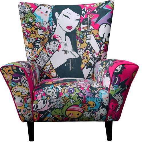 Vibrantly Illustrated Seats