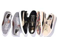Inked-Out Kicks - The PUMA Suede Classic Italy Pack Tatts up Sneakers for 'The List' Collection