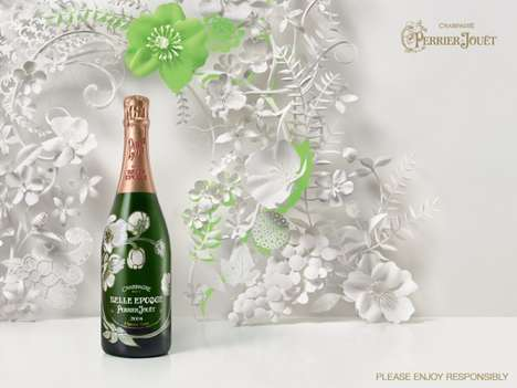 Flowery Champagne Campaigns