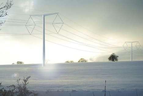 Bareboned Transmission Towers
