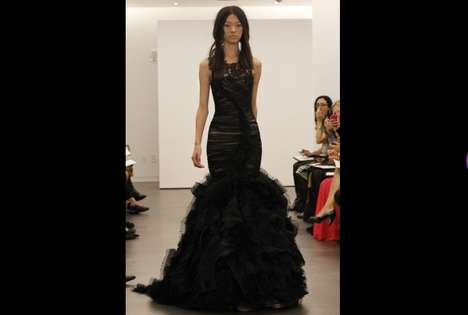 The Vera Wang Fall 2012 Collection Presents the Darker Shade of Matrimony