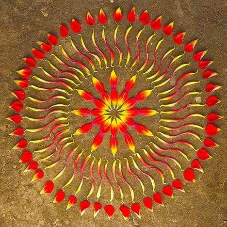 Nature-Inspired Mandalas