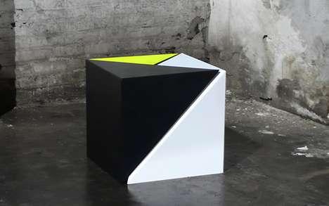 Geometric Intersecting Furniture