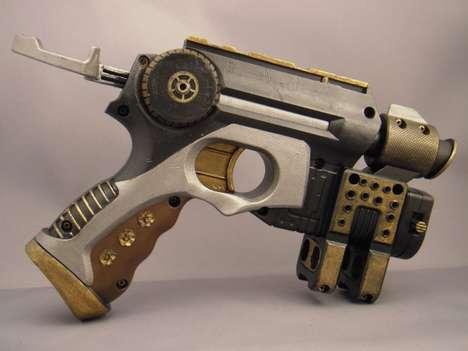 Victorian Sci-Fi Toy Guns