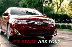 Accommodating Auto Ads - Toyota Camry 'It's Ready. Are You?' Campaign Shows How the Car Adapts