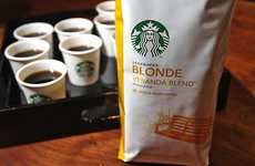 Light-Bodied Brews - Starbucks 'Blonde' Roast is a Weaker Blend for Mild Tastes