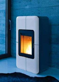 Remote-Controlled Eco Stoves - The Toba Pellet Stove is a State-of-the-Art Green Design