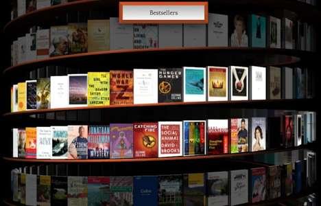 Infinite Virtual 3D Libraries