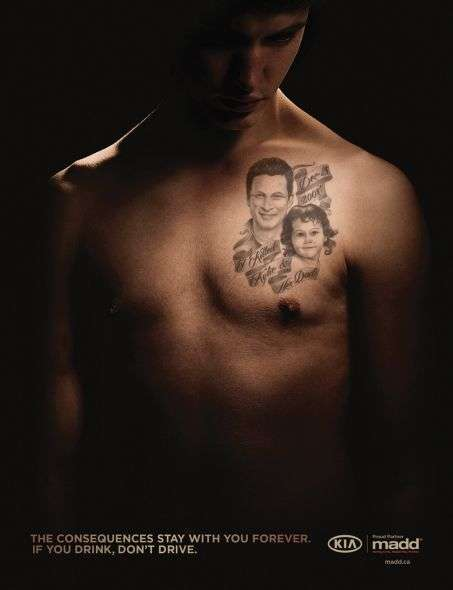 Terrifying Tattooed Campaigns