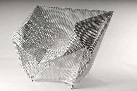 Collapsed Perforated Furniture