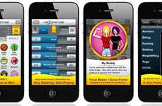 Rewards-Based Fitness Apps - Nexercise Motivates You to Work Out With Medals & Merchandise