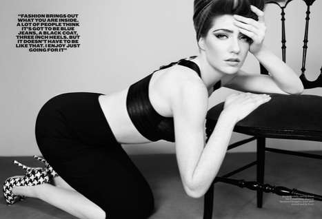 The Nicola Roberts Pop Tart Shoot Features Daring High-Waisted Fashions