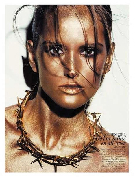 Brazen Bronzed Beauty