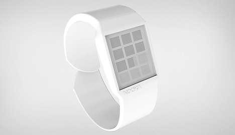 Shape-Reading Wristwatches