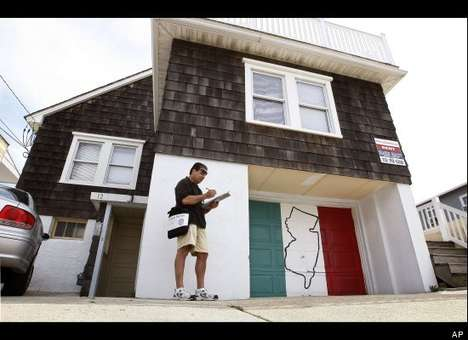 The 'Jersey Shore' House is a Dramatic Dwelling up for Occupancy