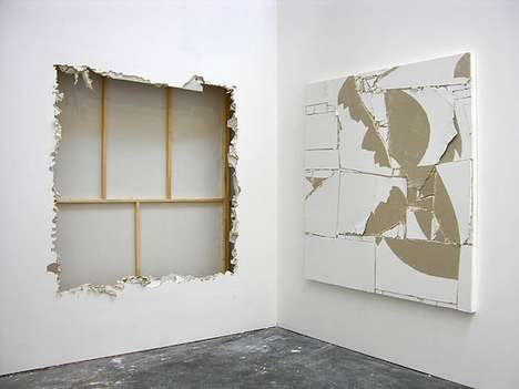 Wall-Ripped Artworks