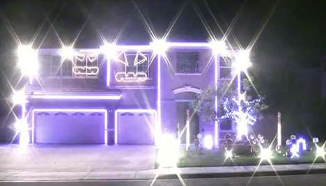 The Party Rock Anthem Halloween Light Show 2011 is a Dynamic Display