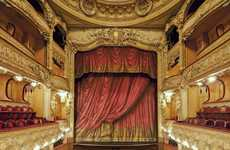 Lavish Stage Photography - 'Inside the Parisian Theatres' Looks Inside European Artistry