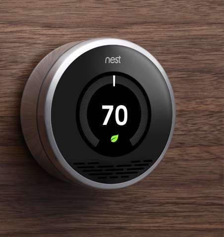 Adaptive Central Heating - Forget Dials and Buttons, the Nest Thermostat Learns Your Habits