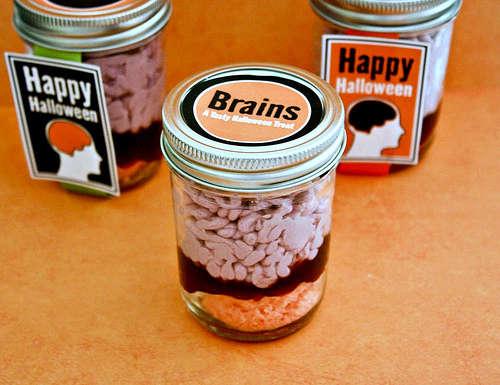 confined cranium cakes - Gory Halloween Food Ideas