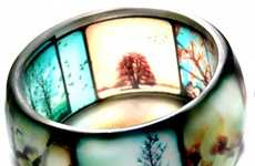 Vintage Photo Jewelry - Beth Tastic's TtV Viewfinder Bracelet Looks Inspired by Instagram