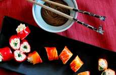 Deceptively Sweet Sushi - The Crackle Snap Pop Roll is a Tricky Treat