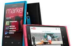 Slim-Fit Smartphones - Nokia Lumia 800 Shows Off a Dazzling Brand New Mobile