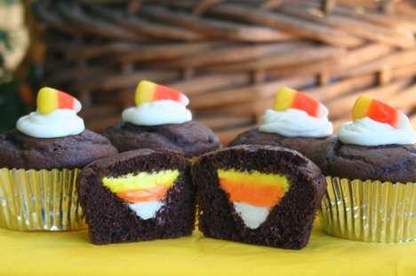 Festive Striped Sweets