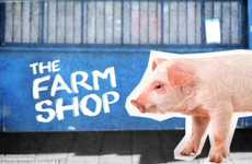 Agriculture Retail Stores - The London FARM: Shop Project is the World's First Farm in a Shop