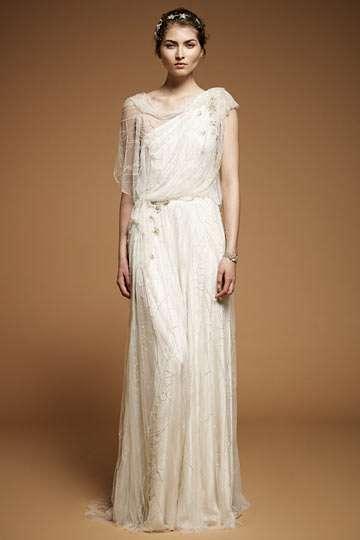 Grecian Princess Wedding Gowns
