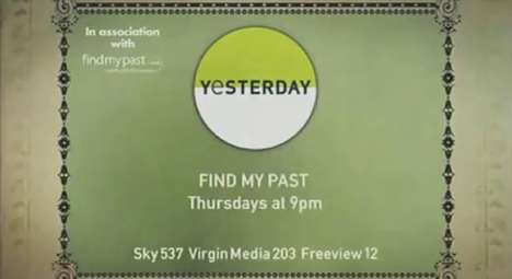 Forgotten Ancestor Shows - Find My Past Explores People's Unknown Histories