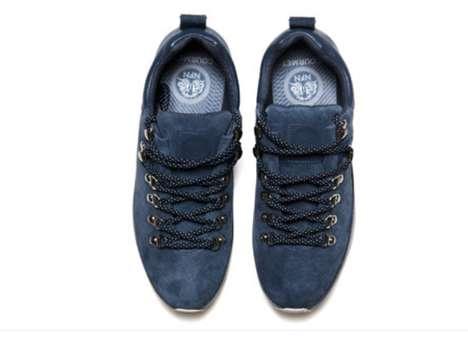 Chic Suede Hiking Footwear