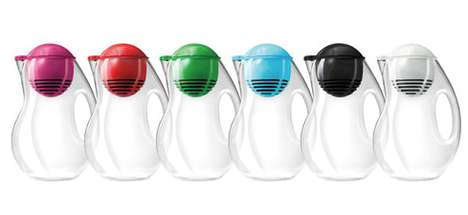 Tasteful Filter Containers - Karim Rashid's Bobble Jug is Part Two of the Bobble