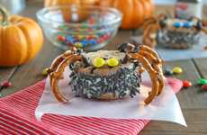 Creepy Crawly Confections - Spooky Ice Cream Sandwiches are the Perfect End to a Hip Halloween