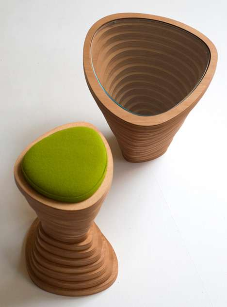 Wooden Volcanic Furniture