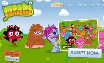 Social Network for Kids - Moshi Monsters