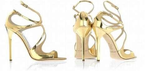 Metallic Luxury Shoes
