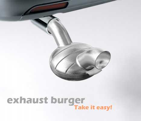 Tailgate Dining - The Exhaust Cooked Burger