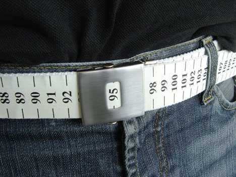 Fashion Publicy Display Your Size - Measure Tape Belt