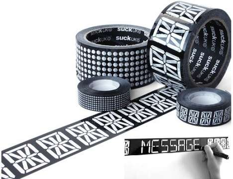 Sticky Digital Displays - Message Tape