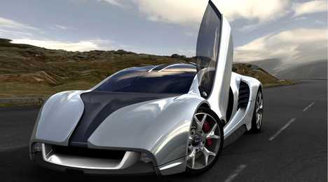 Luxe Super Cars - MCE MC1 Concept